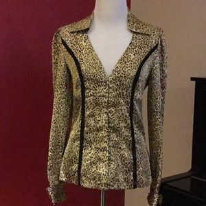 Guess silk dress blouse, size XS